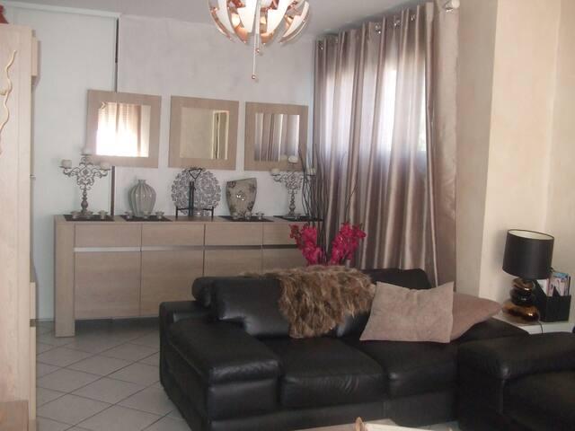 grand appartement lumineux et agréable - Saint-Priest - Lägenhet
