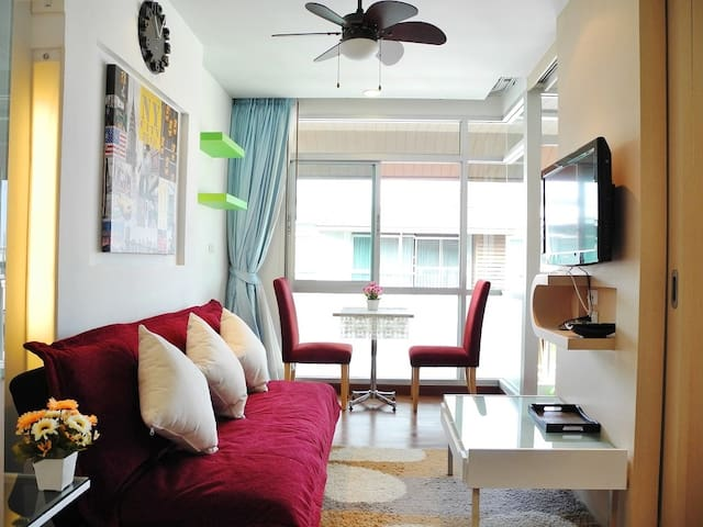 Well located apartment in Patong.