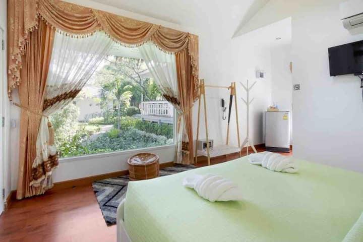 Aquna Hua Hin Resort Jacuzi 201华欣阿库那度假旅馆按摩浴缸房201
