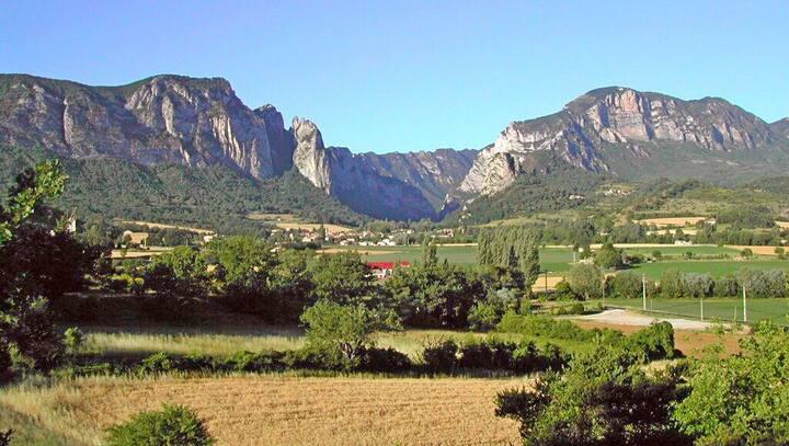Chalet dans la Drôme pour 2-4 pers