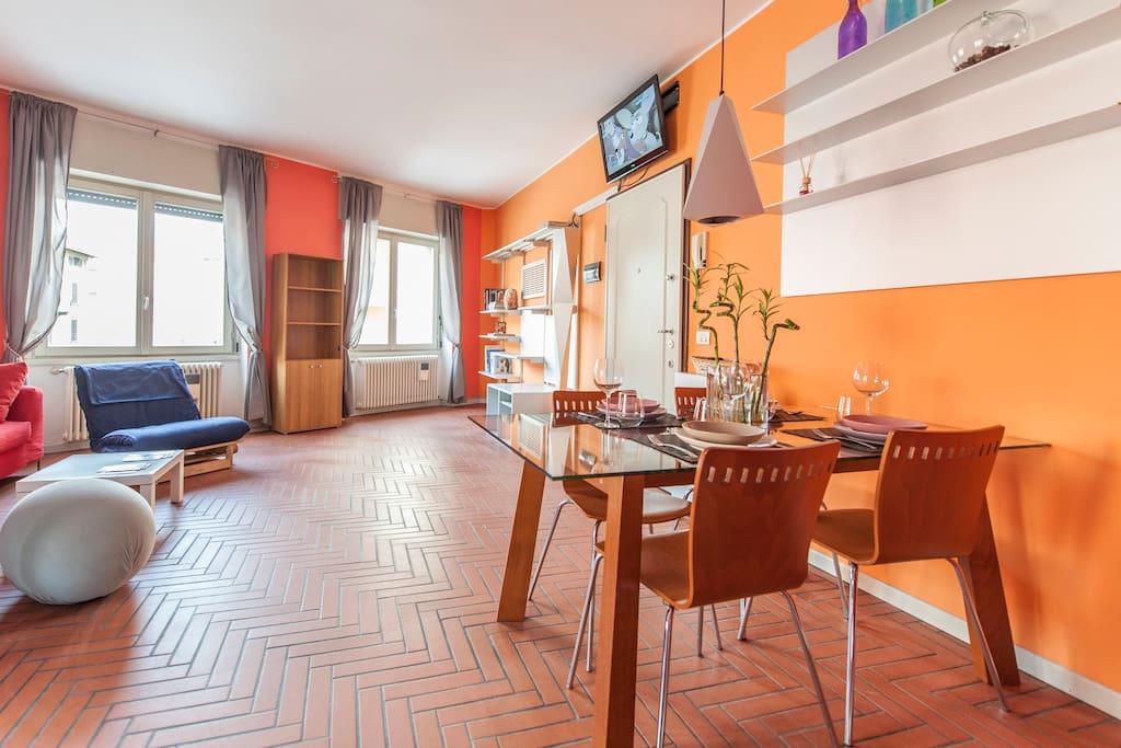 Carpe diem casa vacanza appartementen te huur in bergamo for Lombardijen interieur