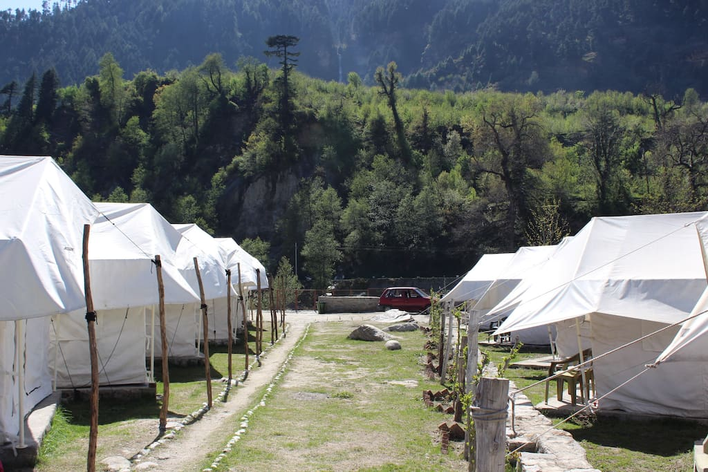 Garden View of the Camp