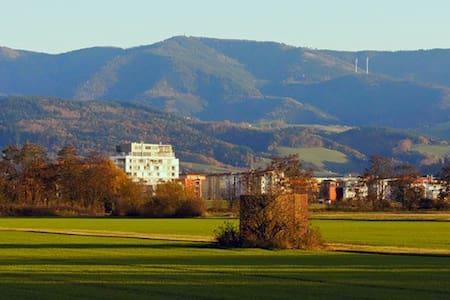 Ferienwohnung am Naturschutzgebiet - Freiburg - Lägenhet