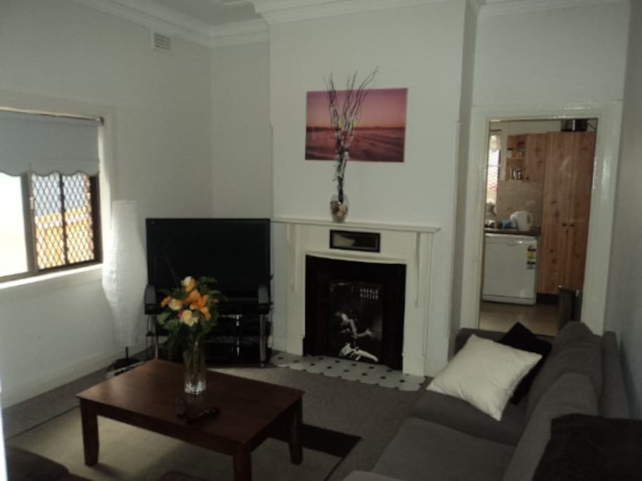 Living room- it is not a party house but friends always are welcome