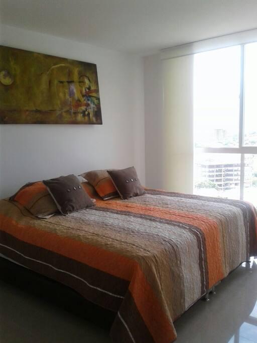Habitación principal, con cama matrimonial
