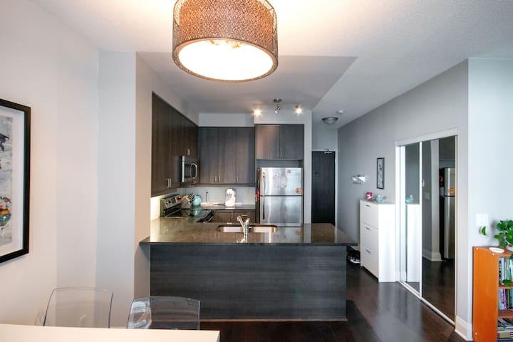 Bright open concept condo in Toronto