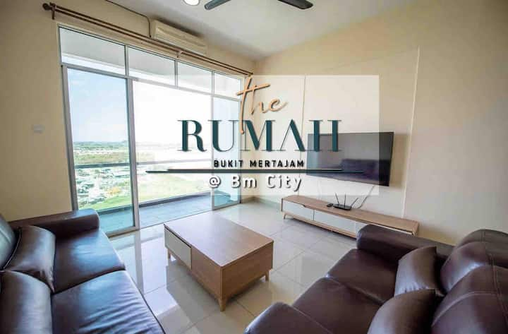 The Rumah  @BM City 2 Bedroom (Summer Breeze)