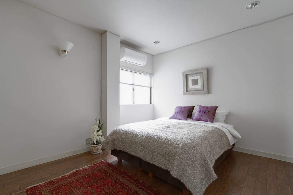 comfortable room with great bed