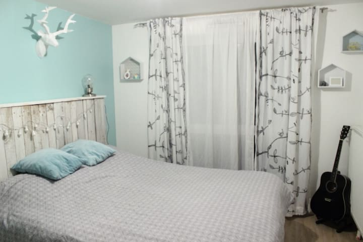 Chambre cosy dans un appartement - Lille - Daire
