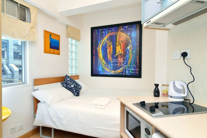 Modern Self-Contained Studio in LKF Central.