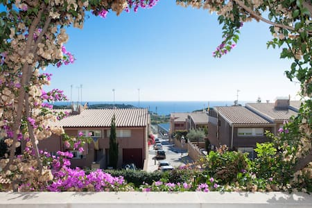 Big House with sea views! - Sant Vicenç de Montalt