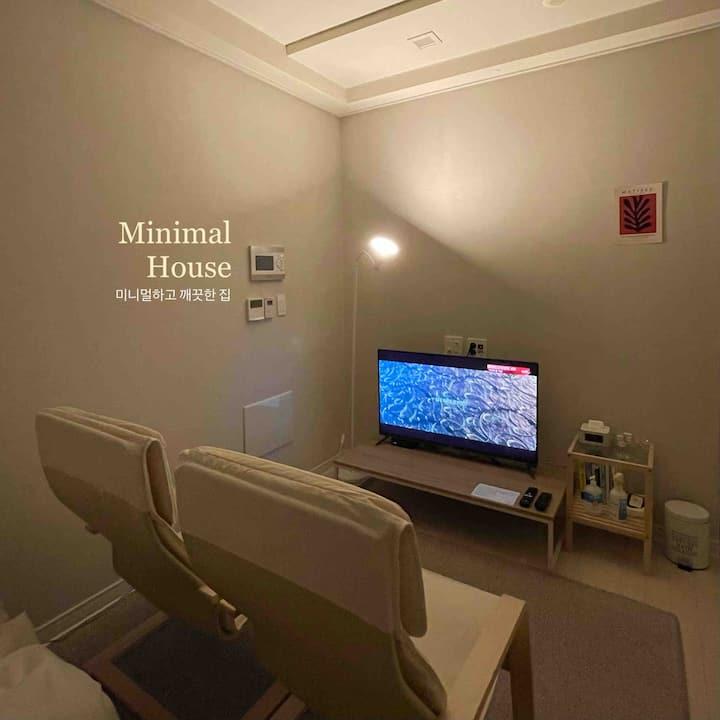 [Minimal House2] 심플한집:) 동대구역3분거리/신세계/야경맛집/소독&청결