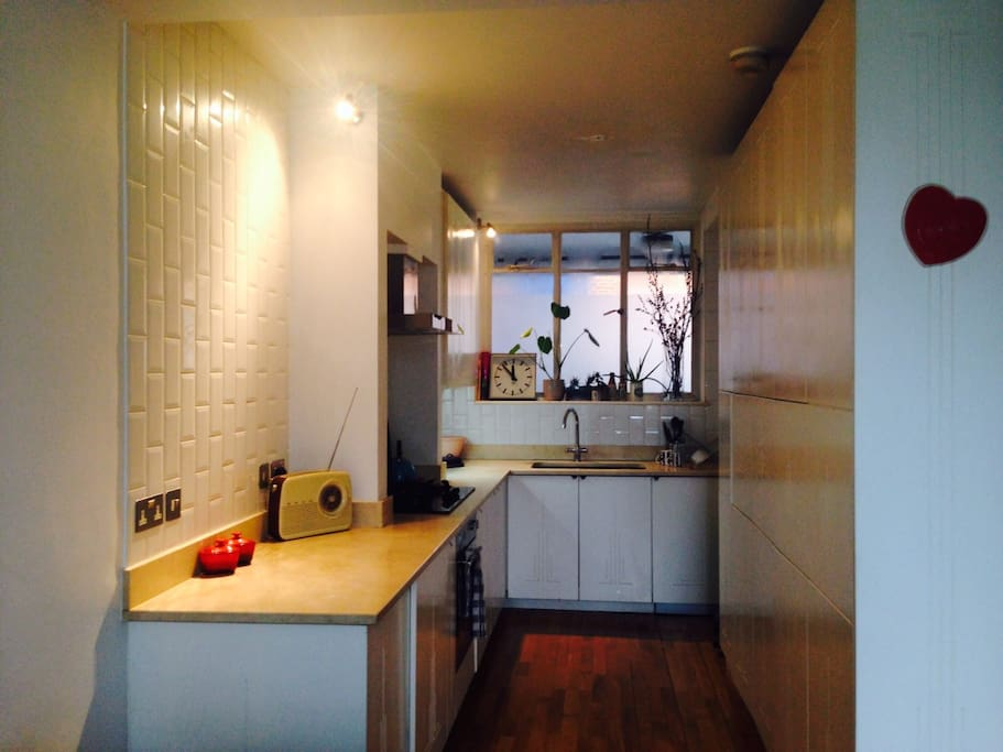 The Clean and Lovely Kitchen