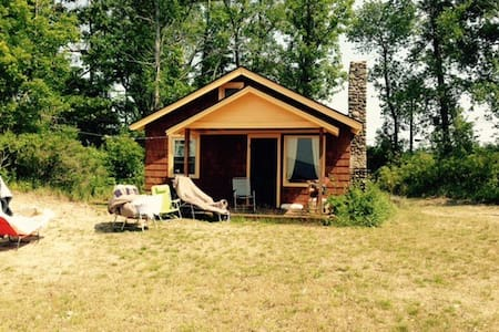 Lakefront rustic cottage near Salmon River - Pulaski