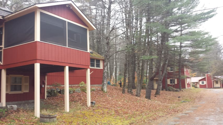 Four bedroom house on 50 acres with Lake access