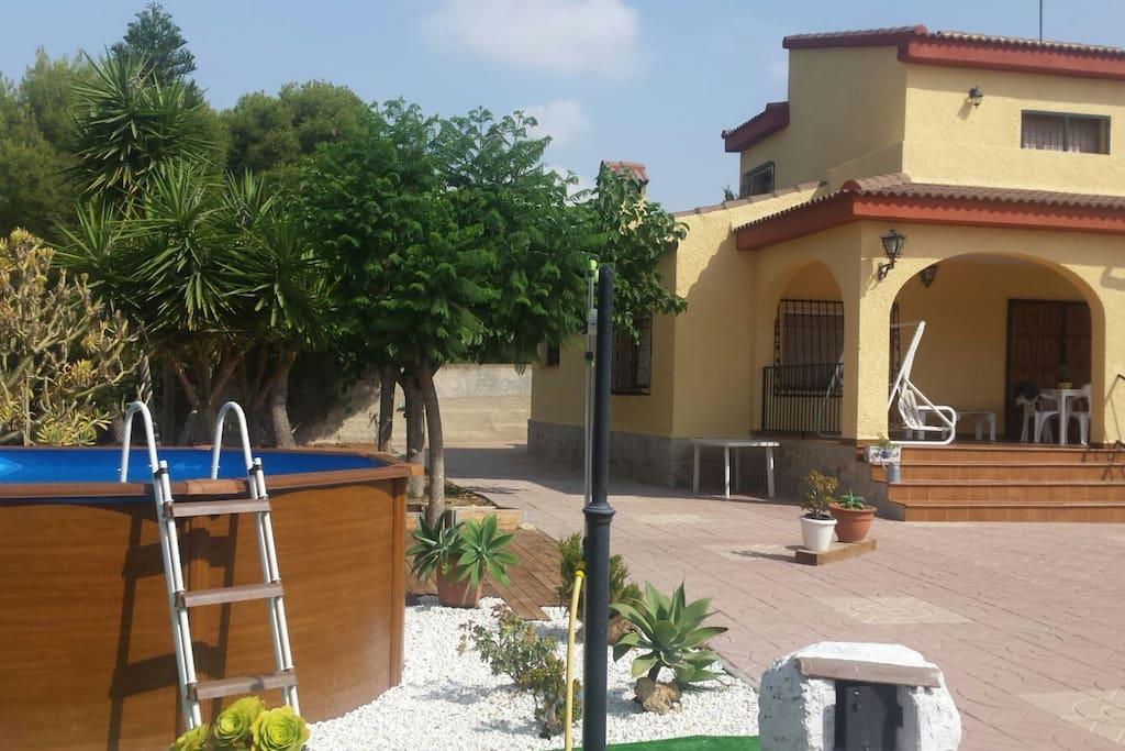Chalet de vacaciones familia y amigos casas rurales en - Casa rurales comunidad valenciana ...