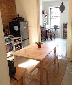 light filled 1 bedroom in the east village - New York