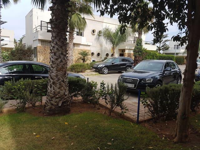 Villa 400m  amphitrite palace.skhirate plage Rabat