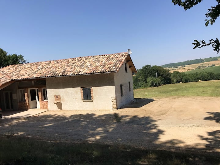 House with 4 bedrooms in Puygaillard-de-Quercy, with furnished garden and WiFi