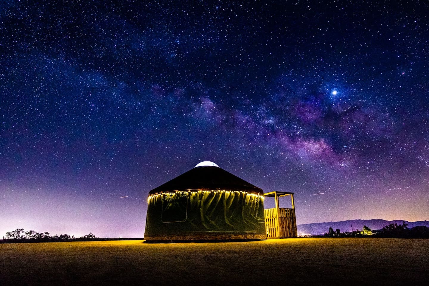 The average cost to stay in this yurt is $138
