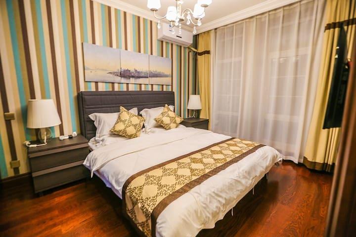 独栋三层别墅,三卧室、客厅、餐厅、厨房 - Dandong Shi - Villa