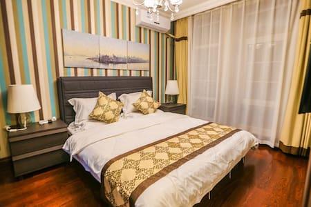 独栋三层别墅,三卧室、客厅、餐厅、厨房 - Dandong Shi