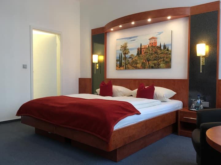 Doppelzimmer im Hotel West