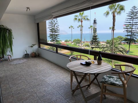 Beautiful place in front of the Sea in Miraflores