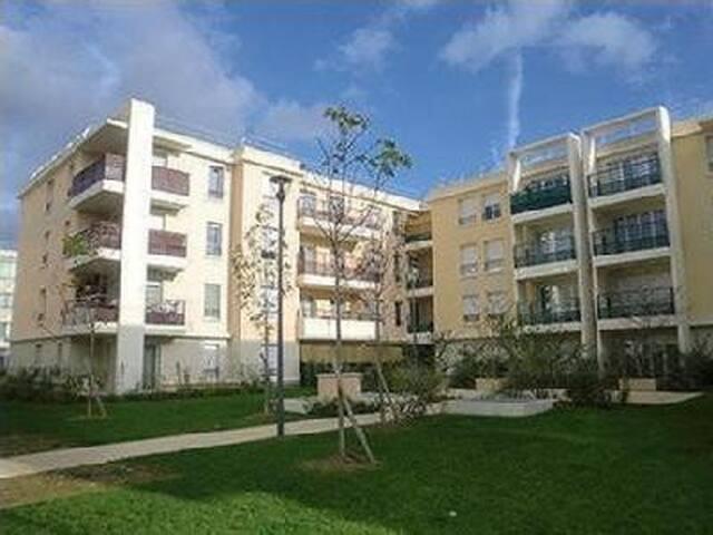 Appartement cosy à Vigneux sur Seine proche Orly