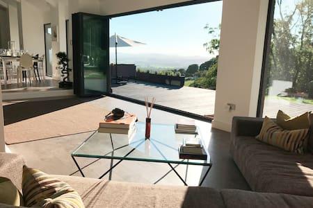Luxury grand design dream family home, N Wales, UK