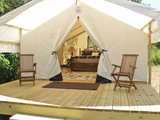 Glamping St. Louis-Willow Haven - Saint Charles - Tent