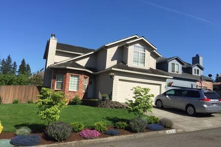 Casual Homey Family Residence - Clackamas