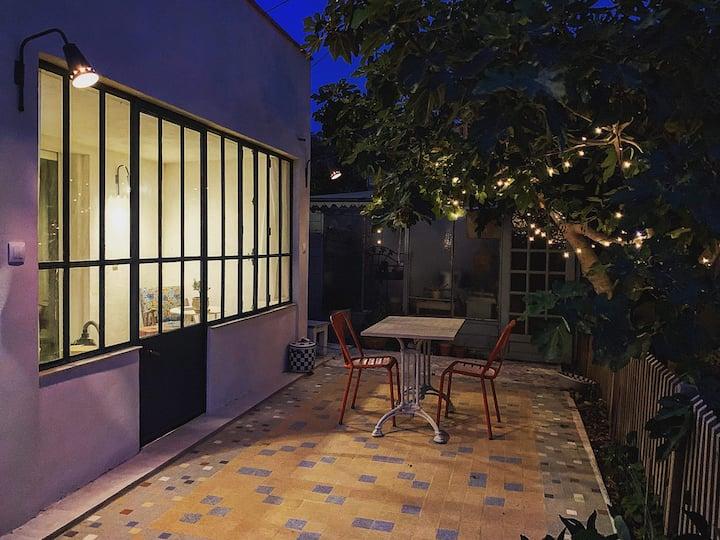 Le figuier - studio indépendant en rez de maison