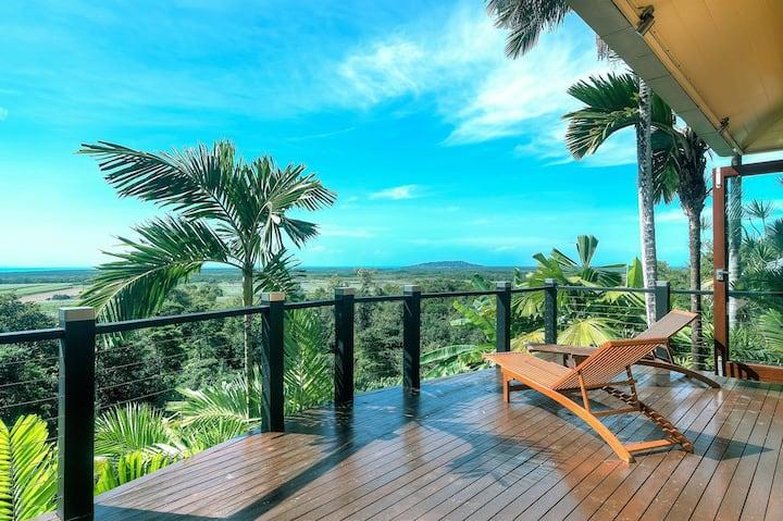 Ocean Breeze tropical retreat