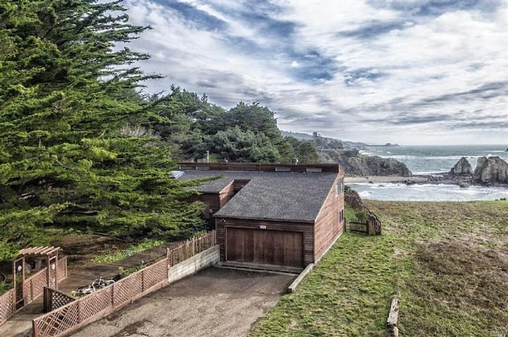 Oceanfront Home & Private Beach