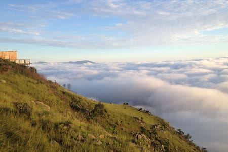 Sultans Rondavel above the clouds