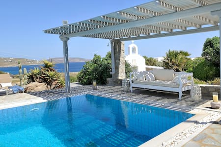 blueground villa,  pool, seaview - Kalafati - Villa