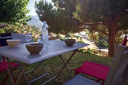 Apartment with garden View sea - Ajaccio