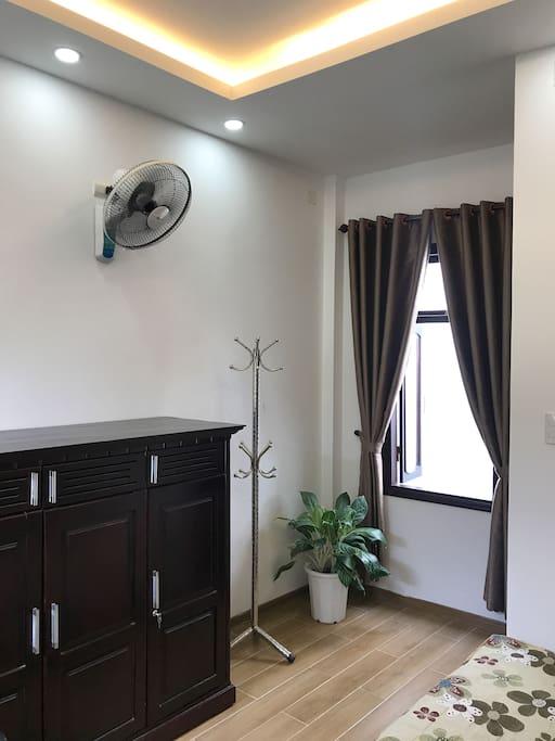 A room's corner