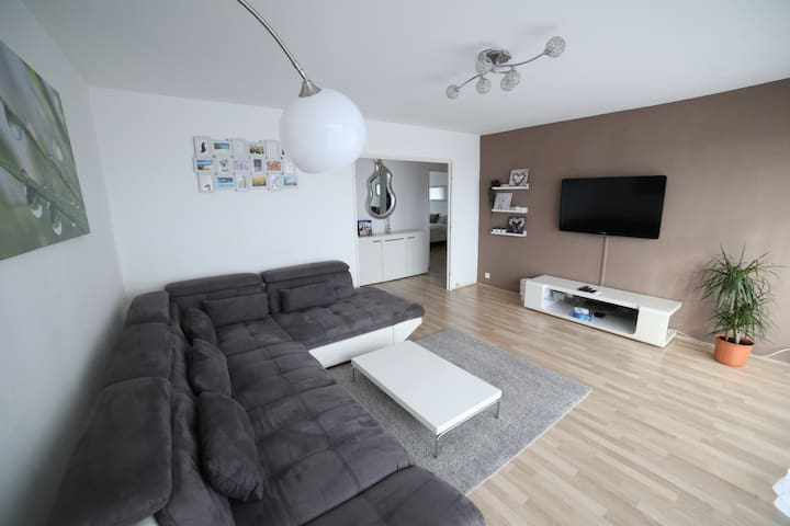 Bright apartment near Basel ★Large Balcony★Netflix