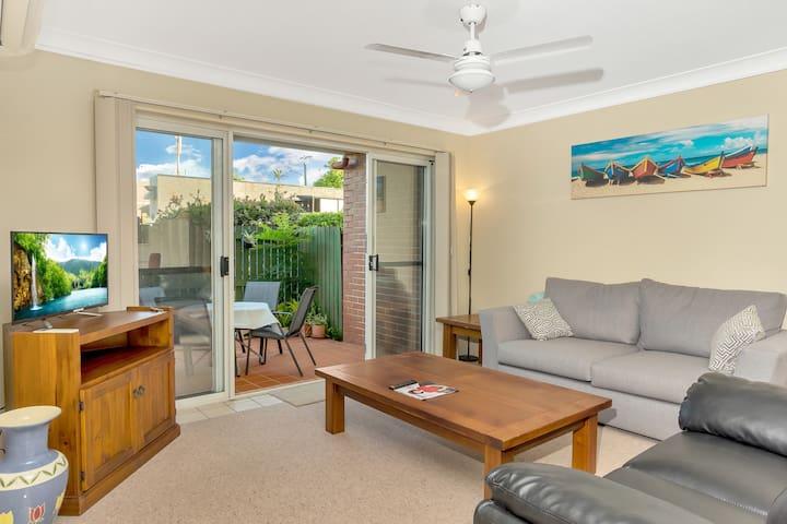 Superb + Convenient 2 Bedroom Courtyard Apartment