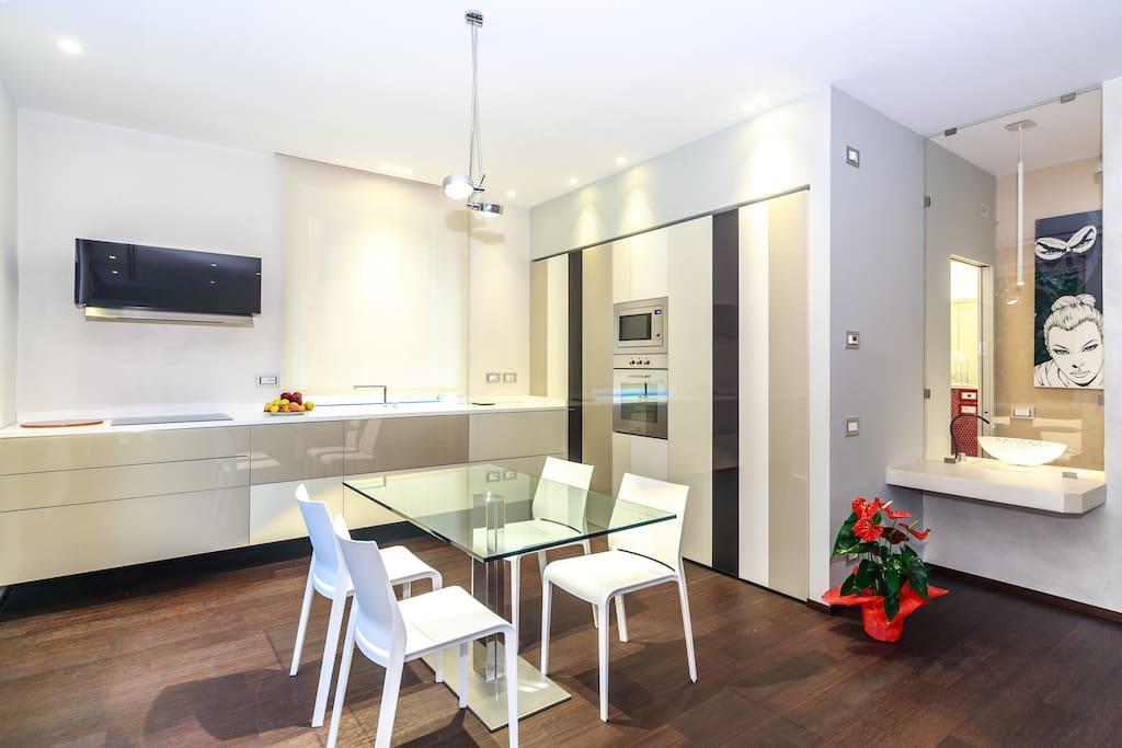 Elegante appartamento a genova appartamenti in affitto a for Centro soluzioni airbnb