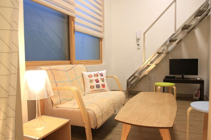 Open! Mini duplex #304 NINE HOUSE - Mapo-gu - Apartment