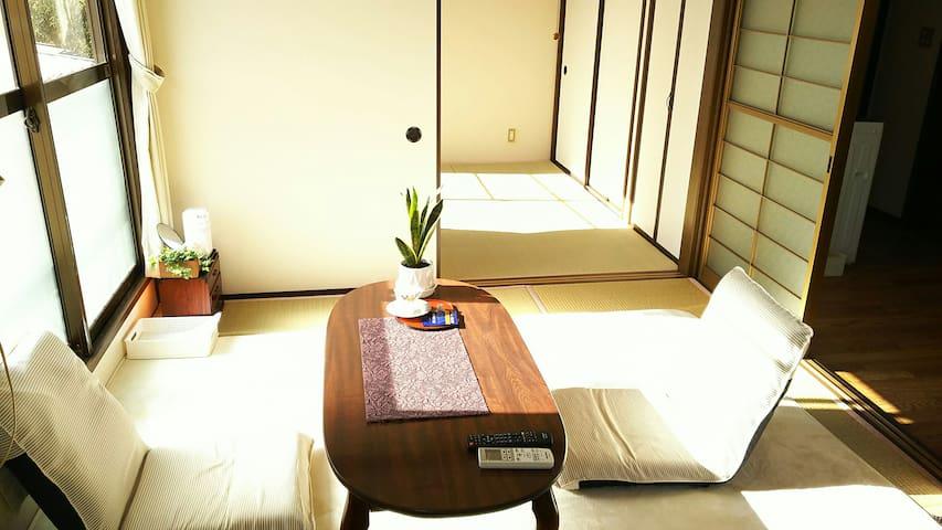 【日本三景 in MATSUSIMA】 松島を楽しもう! 二階の2Kアパート貸切 寝具4組 201