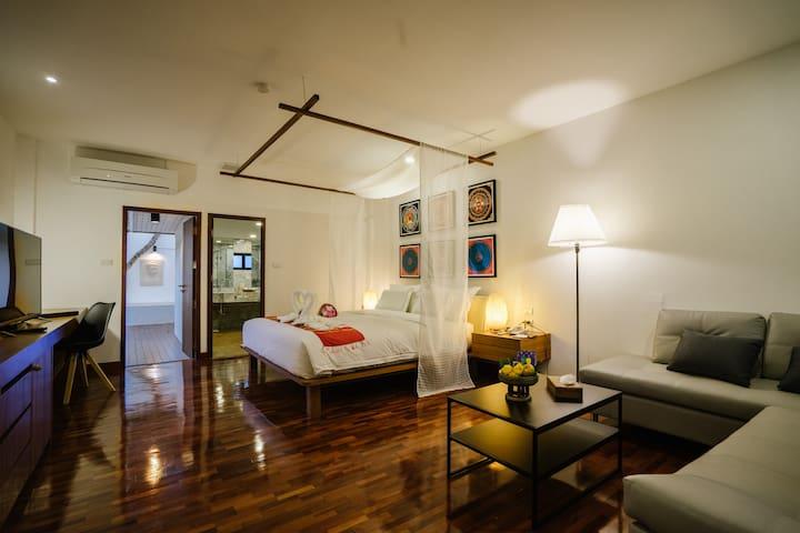 Mango T. Villa Chiang Mai - Junior Suite with ABF