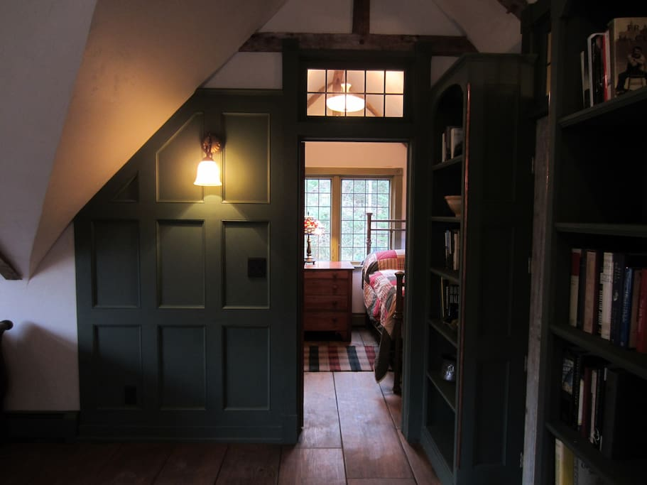 View of Bedroom Transom