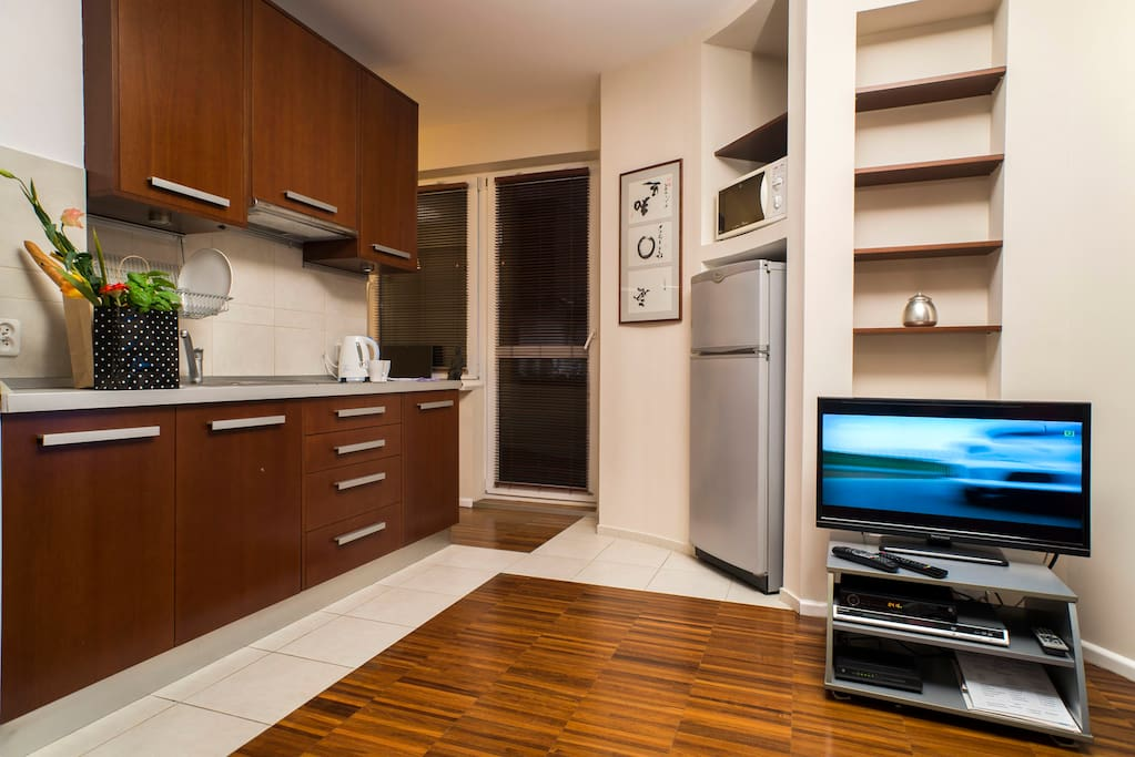 Apartment Ochota 15 - great apartment in Warsaw, wifi, tv lcd, free garage