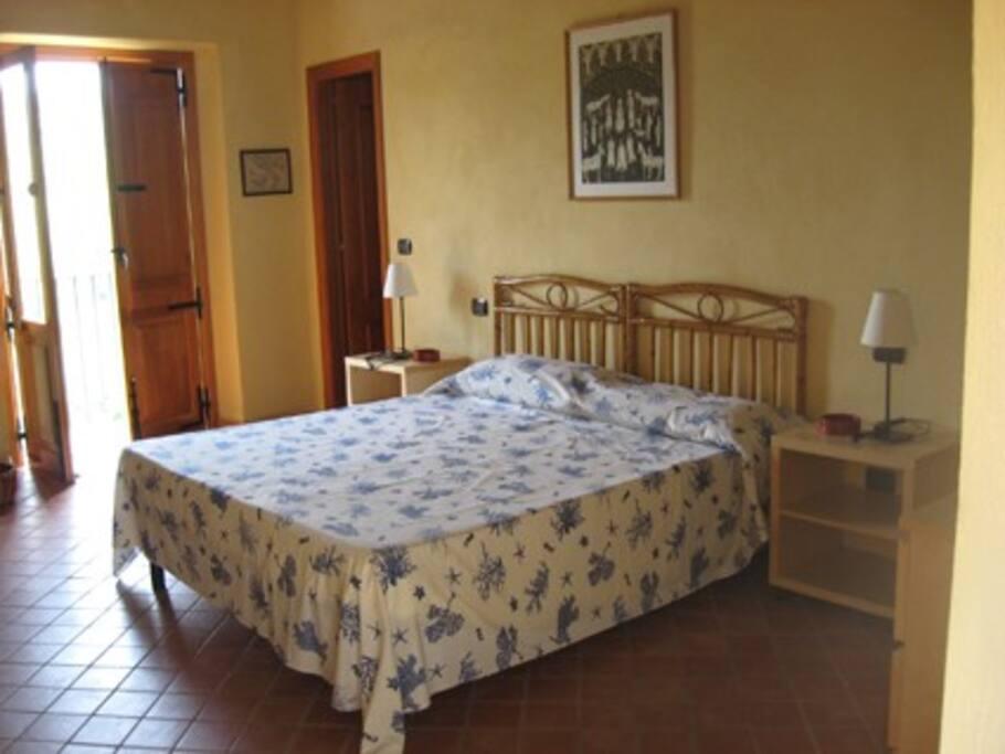 camera letto primo piano