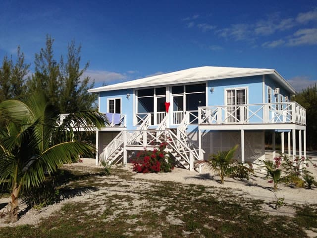 Duplex, in front of our beach lot with  equipped deck