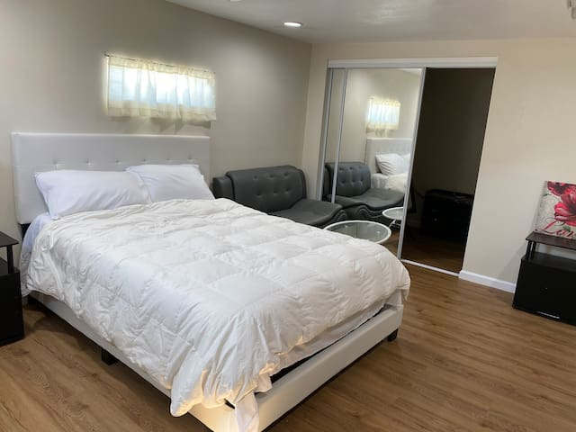 Luxury suite w/Private entry & private bathroom